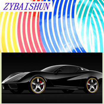 18 Car Modeling Reflective Wheel 16 Car Tape Accessories 5 Color for Mazda 2 3 5 6 CX5 CX7 CX9 Atenza Axela image