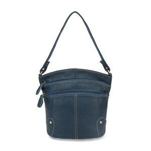 Image 5 - 100% Eerste Laag Koeienhuid Echt Leer Vrouwen Messenger Bags Vrouwelijke Kleine Schoudertassen Vintage Crossbody Tassen Bolsas MM2318