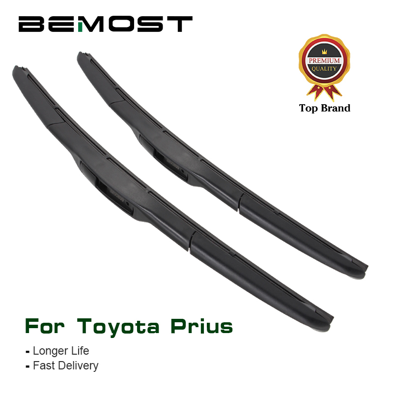 BEMOST Car Windscreen Wiper Blade Clean The Windshield For Toyota <font><b>Prius</b></font> XW10 XW20 XW30 Fit Hook Arm Model Year From 1998 To 2015 image