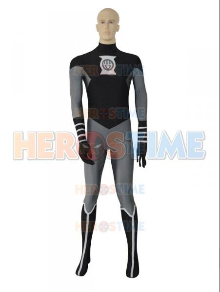 3D Printing Black Lantern Crops Spandex Superhero Costume Halloween Cosplay Costume Custom Made Available