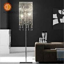 Promotion Quality Modern Europe Style Elegant Romantic Domestic K9 Crystal Lamp Incandescent/LED Floor Lamp/Table Lighting
