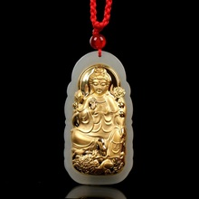 Good Luck Jade Necklaces Top Quality Unisex Jade Pendants  For Men Women Jewelry цена 2017