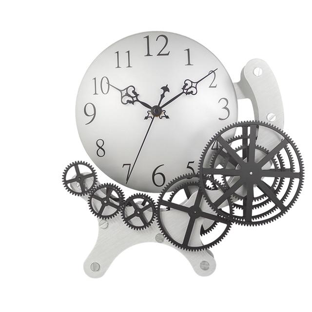 Reloj Cocina | Glow Fashion Creative Living Room Wall Clock Modern Design Digital