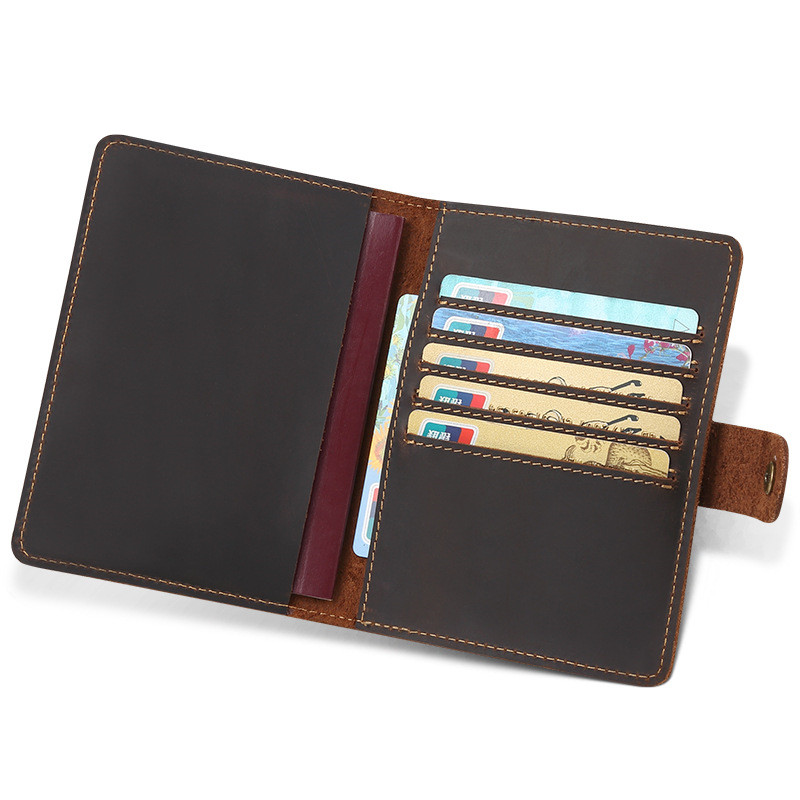Slim Cow Leather Card Holder for Credit Card Case Porte Carte for Credit Cards Cardholder Business Bank Card Holder 07