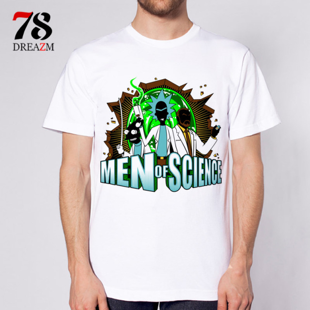 Rick and Morty- T-shirt (Lot of Designs)