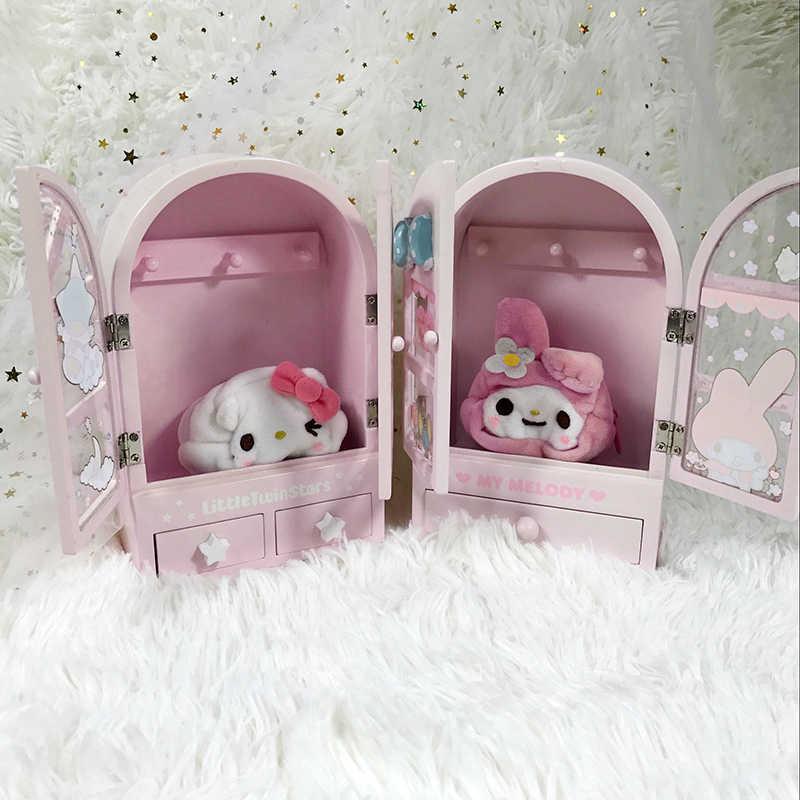 Оригинальная японская новая мультяшная Мелодия маленькая Две звезды деревянная коробка для девочек домашнее украшение для кукол аксессуары