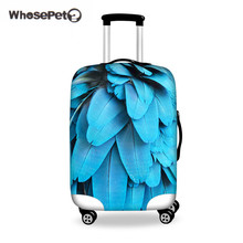 WHOSEPET Leaf Case Cover Luggage Luggage Cover Protector For 18 to 28 Inch Trunk, Aksesori Aksesori Wanita Cover Kantung 3D