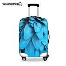 Чехлы для чехлов WHOSEPET Чехол для чехлов для багажа с защитой от 18 до 28 дюймов, аксессуары для багажа для женщин, чемоданы для 3D-чемоданов