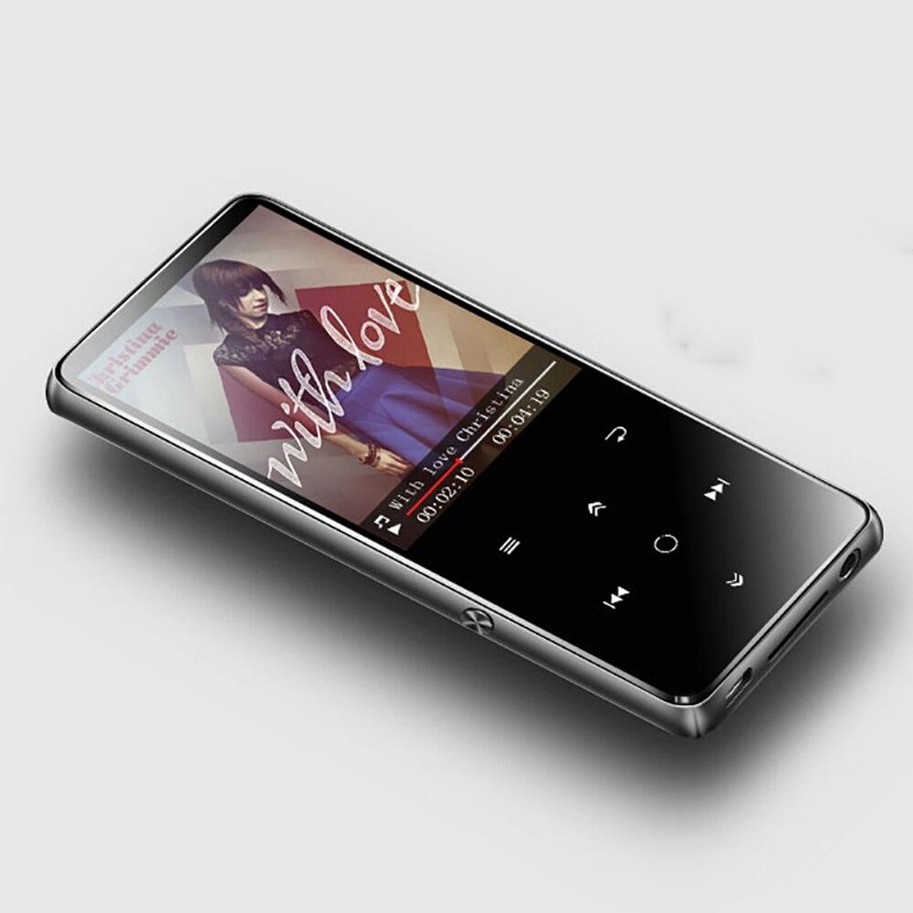 2018 lecteur Mp3 Bluetooth support TF carte MP3 lecteur de musique BENJIE K11 écran tactile 8 GB 16 GB 1.8 pouces écran avec FM et OTG