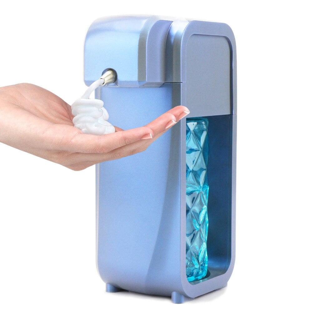 Distributeur automatique de savon, distributeur de savon de lavage à la main de capteur sans contact Commercial fixé au mur pour la cuisine et le Bathroom_300ml