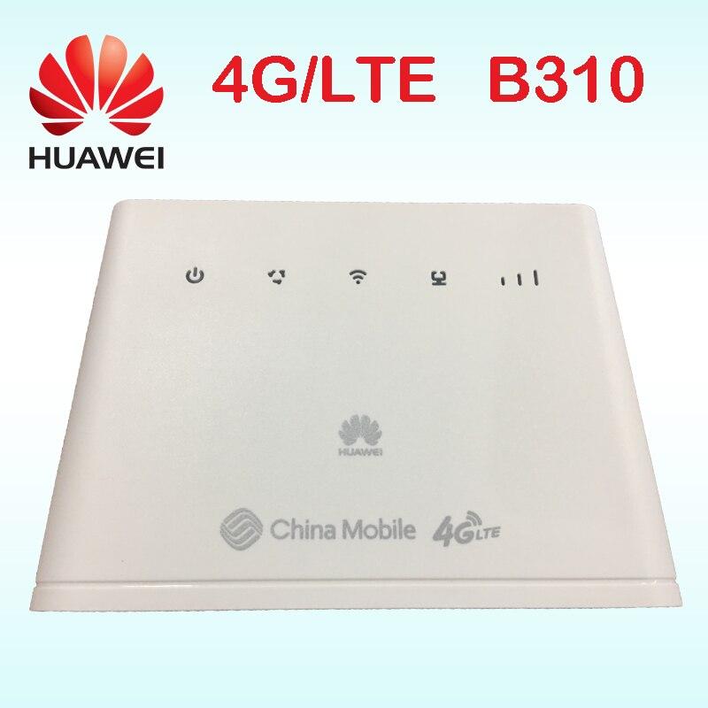 huawei router 4g rj45 b310as-852 huawei lte router b310 lan car hotspot sim card  portable wifi 4g b310s-22 b310s 2