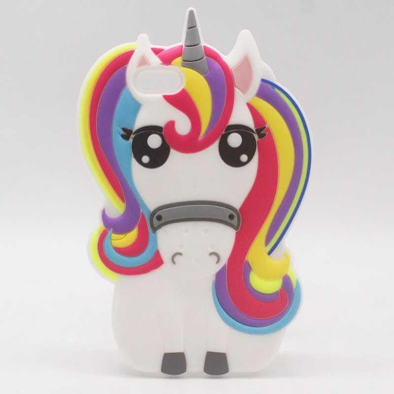 cover iphone 5 con unicorni