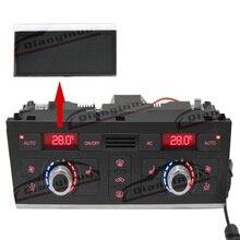 Qianyinuo LCD תצוגת מיזוג אוויר פיקסל תיקון לאאודי A6 (4F) / Q7 (4L) LCD מסך 2005 2012 שנה