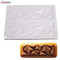 SHENHONG силиконовые шоколадные формы для торта в форме бриллиантов для замороженных помадных форм сахарные пирожные инструменты для украшени...