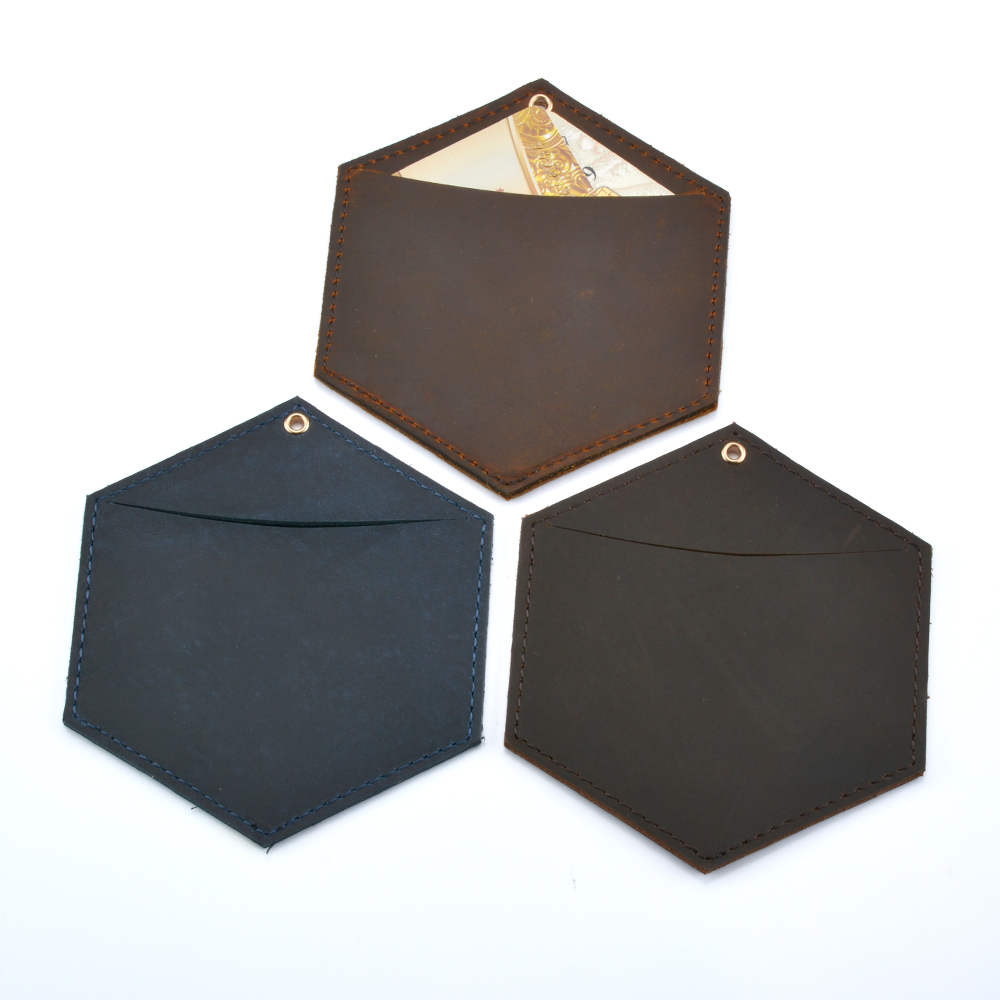 Hexagon Commercial Business Card Book Card Stock Name Cards Credit Bank Card Holder
