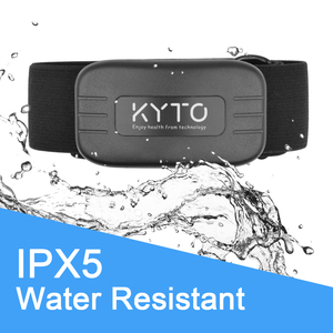 Image 4 - KYTO Heart Rate Monitor Chest Strap Bluetooth 4.0 Belt Fitness Smart Sensor Waterproof  Equipment For Gym Outdoor Sports