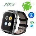Lemado x01s smart watch android 5.1 os 1.54 pulgadas 3g Smartwatch Teléfono MTK6572 1.3 GHz Dual Core GPS Gravedad reloj Podómetro teléfono