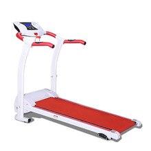 Цветной экран многофункциональная Беговая машина беговая машина фитнес-оборудование Бесшумная Складная потеря веса