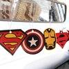 2pcs Truck Car Hanging Perfumed Fragrance Papers For Hero Air Freshener Car Perfume  Air Freshener Captain America Superman 4