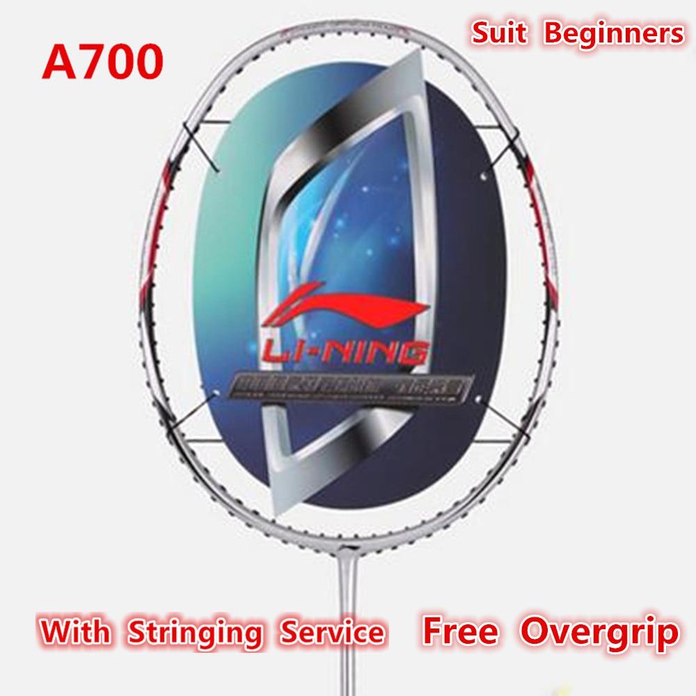 Li-Ning Cheap Badminton Rackets Full Carbon Ball Control Li Ning Racquets A700 Lining AYPG354 L399OLC цена