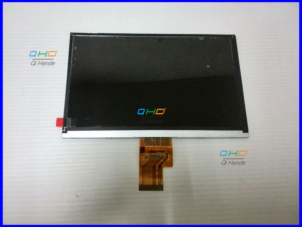 New 7'' inch LCD Display Screen For AINOL NOVO7 Crystal Tablet PC HJ070NA - 13A EJ070NA AT070TNA2 V.1 1024*600 Free shipping original 7 inch lcd display kr070lf7t for tablet pc display lcd screen 1024 600 40pin free shipping 165 100mm