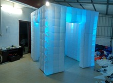 Beautiful Inflatable Decoration Lighting Inflatable LED Photo booth,cube tent For Wedding, Party,Event, Exhibition, Trade show
