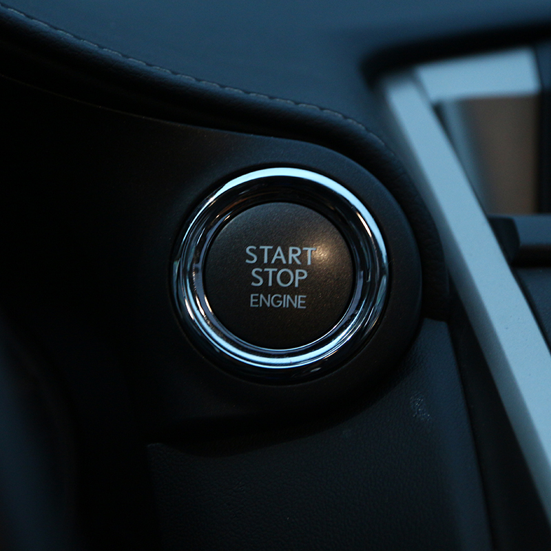 2016 Lexus Ct Interior: ABS Chrome Engine Start Stop Button Cover Trim For Lexus