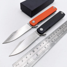 Ball Bearing Folding Knife 9Cr18MoV Blade G10 +Steel Handle Pocket Knives Outdoor Camping Survival Knives Hunting EDC Tool bmt zt 0392 tactical folding knife 9cr18mov blade g10 handle bearing knife camping hunting edc tools outdoor survival knives