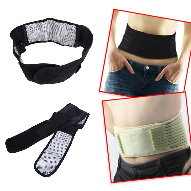 1x Waist Brace Support Spontaneous Heating Protection Magnetic Therapy Belt