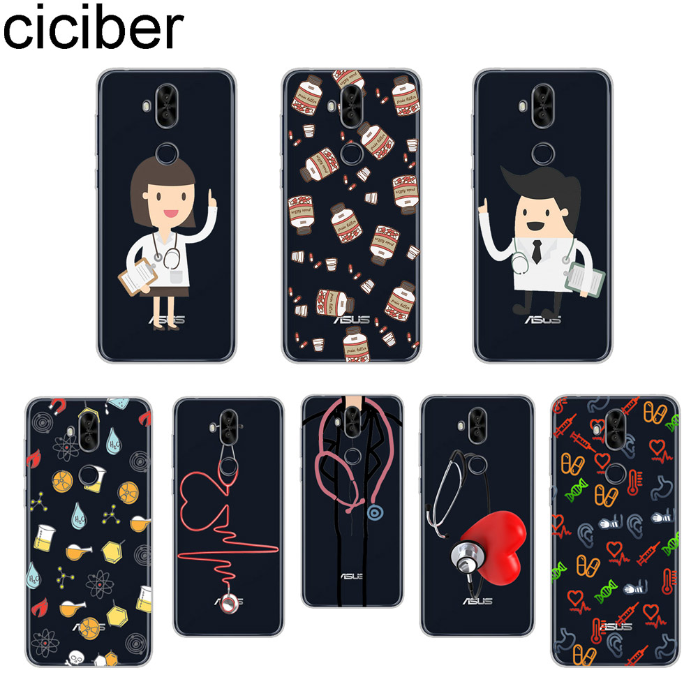 Phone Bags & Cases Cellphones & Telecommunications Responsible Ciciber Cartoon Medicine Doctor Phone Case For Asus Zenfone 5 Lite Zc600kl For Zenfone 5 5z Ze620kl Zs620kl Soft Tpu Cover Coque