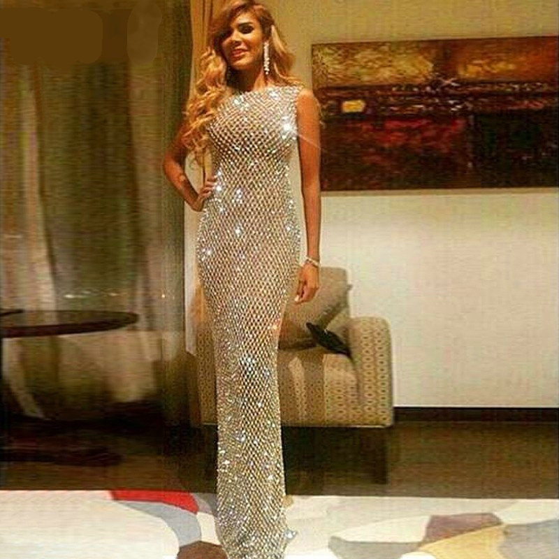 Новое поступление роскошное платье для выпускного вечера с русалочкой, длинное вечернее платье с бусинами и кристаллами, платье на бретеля