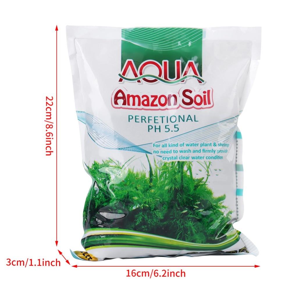 1000g/Bag Aquarium Fish Tank Bottom Water Grass Seeds Plant Sand Mud Fish Tank Accessory Fish Tank Mud(China)