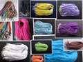 10pcs/lot 17-19 Inch Adjustable Assorted Colors Organza Ribbon Necklace Cord with Lobster Clasp For DIY Jewelry Making