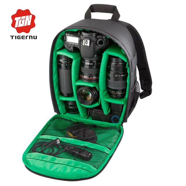 Tigernu mochila de nylon das mulheres dos homens da marca à prova d' água bolsa de viagem da moda mochila com uma câmara