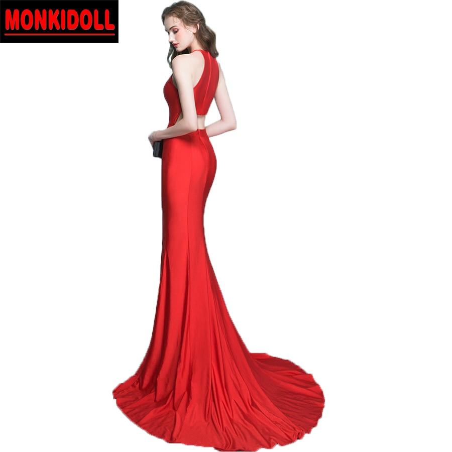 Groß Schwarze Und Rote Abendkleider Fotos - Brautkleider Ideen ...