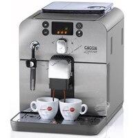 Полностью автоматическая кофемашина кофемолка Итальянская Кофеварка 220 В коммерческий насос давление кофеварка