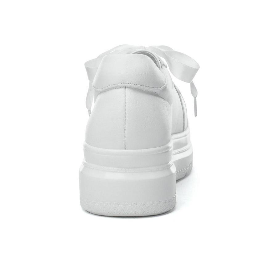 Bout 2019 De Noir Plate Vulcaniser Talon 43 Pompes Femmes rose Taille 35 À Med Pour Chaussures Western Arrondi Esveva forme blanc Style Lacets f0qpgpw