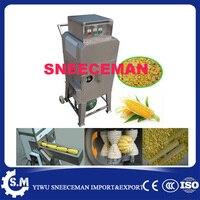 Кукурузная молотилка машина для зачистки кукурузы из нержавеющей стали с цепочкой