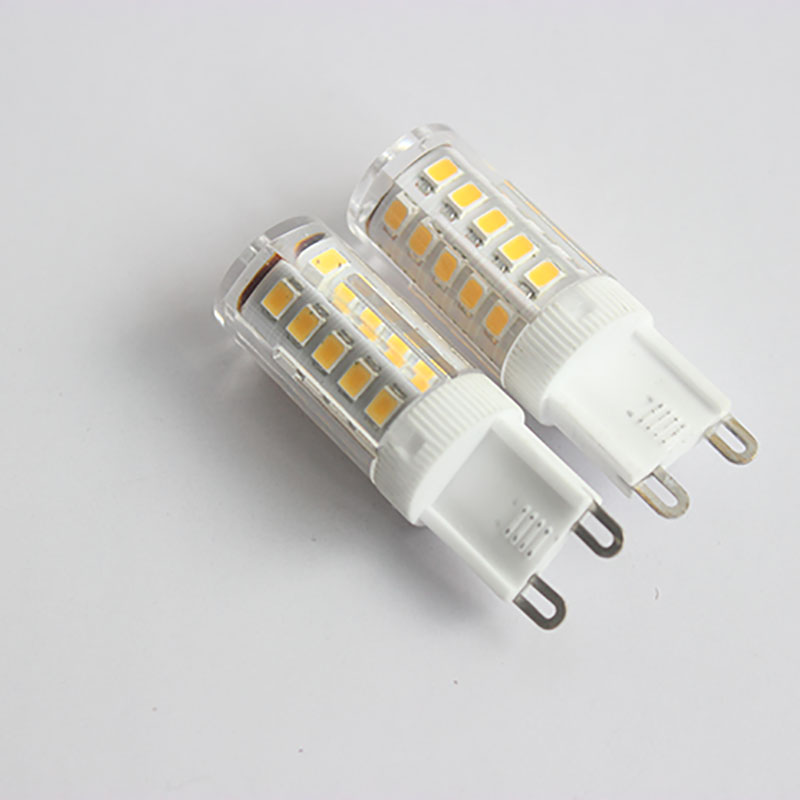 10 pcs G9 led 220v 3W SMD2835 LED Lamp Replace 60W halogen lamp 360 Beam Angle LED Bulb lamp warranty 2 years image