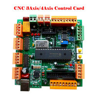 4 Axis USB CNC Controller Interface Board CNCUSB MK1 Substitute MACH3
