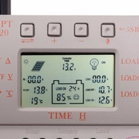 New LCD 20A MPPT Solar Panel Battery Regulator Controller 12V / 24V 260W / 520W