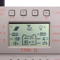 Nowy LCD Panelu Słonecznego MPPT 20A Baterii Regulator Regulator 12 V/24 V 260 W/520 W