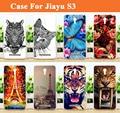 Venta caliente Cubierta de la Caja JIAYU S3, 14 patrones de Pintura Color de la Cubierta Del Caso de tpu Suave PARA JIAYU S3 Teléfono con envío Gratis
