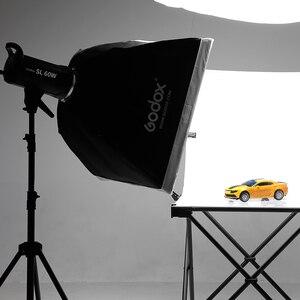 Image 5 - 2x Godox SL 60W 60Ws 5600K Studio LED lumière vidéo Photo continue + 2x1.8 m pied de lumière + 2x60x90 cm Softbox kit déclairage LED