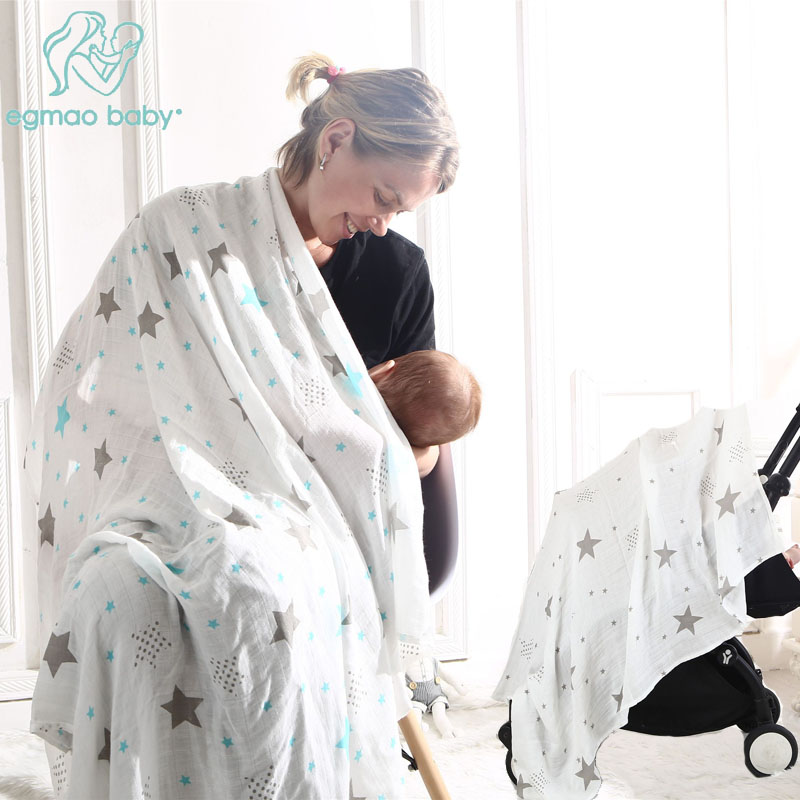 Baby Muslin Swaddle Blanket 100% Cotton Newborn Soft Large Bedding Towel Blankets 3 Pack -Shower Gift for Girls Boys 120 x 120cm kalameng baby blanket swaddle blankets newborn softest polyester cover white cartoon animals 0 3 months large 120cm 75cm