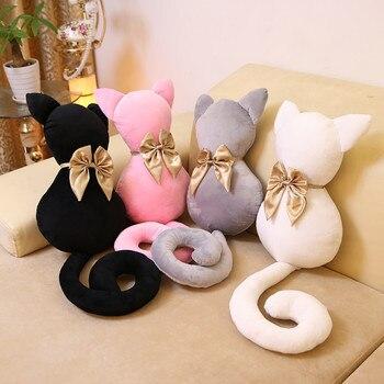 Плюшевые милые корейские котики 40 см