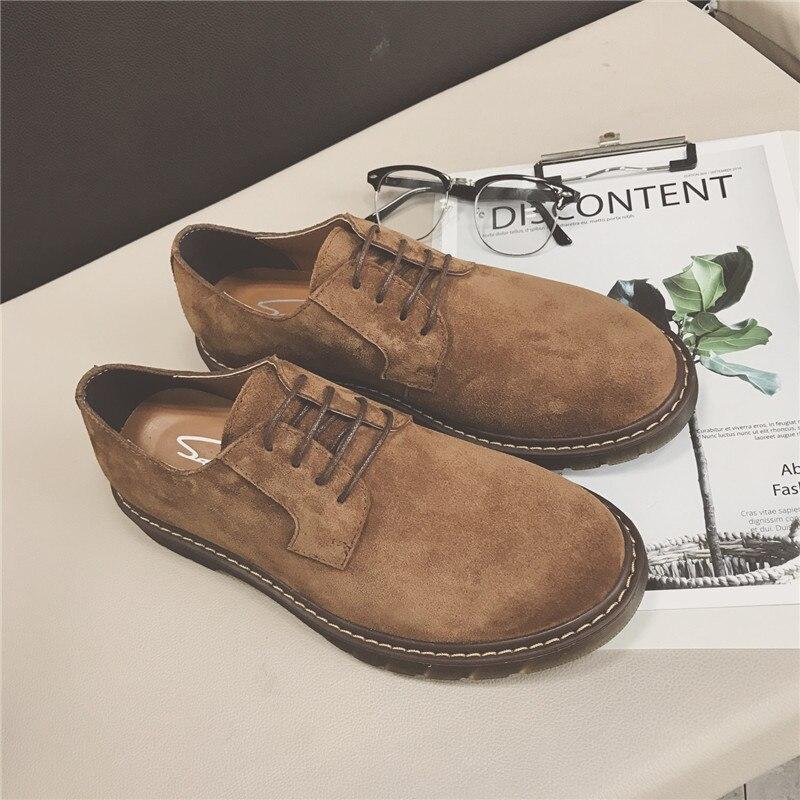 Épais Shown Tête Chaussures Rond Rétro Printemps Grosse Marée Hommes Cuir Mat Shown Occasionnel Mode As En Oxford Tpr as automne Fond Bout De w7XRxCq