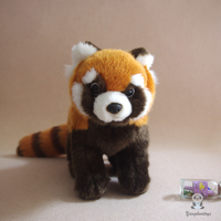 Simulation Stuffed Red Panda Child Toy Lovely Plush Raccoon Doll Toys Birthday Gift Dolls