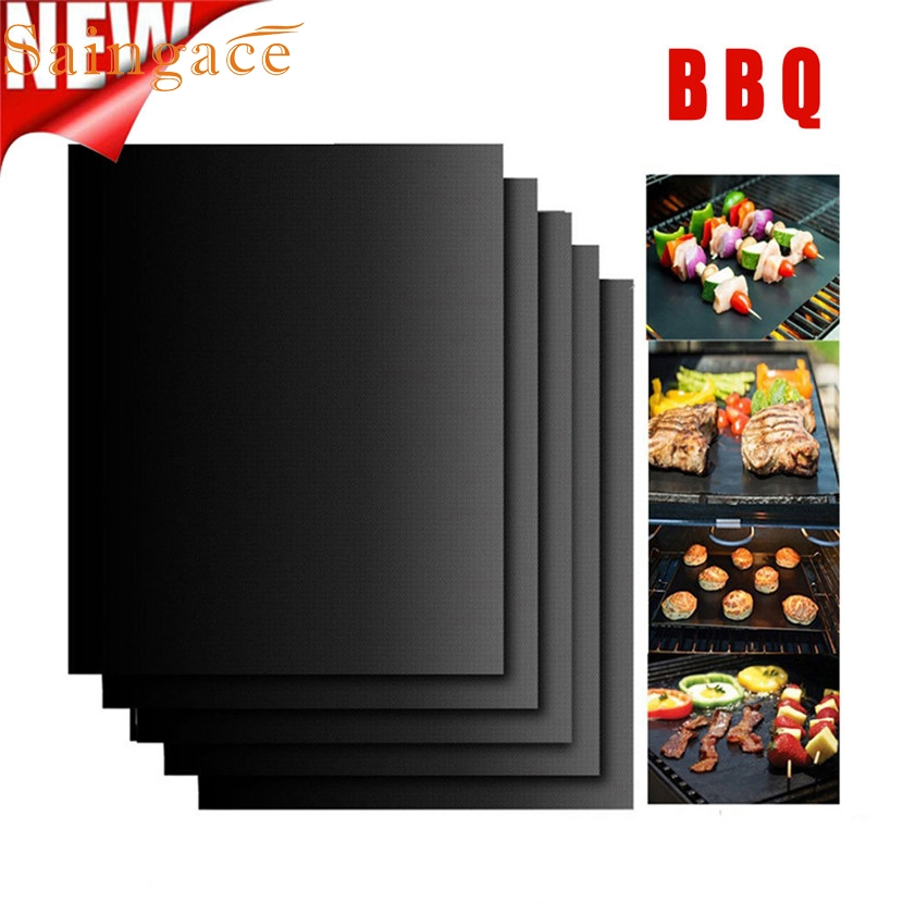 Zero 5PCS Non-Stick BBQ Magic Grill Mat Perfect for Baking on Gas Heat Resistant 170216
