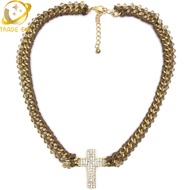 Long Light Crystal Women Costume Statement Necklace Holy Cross Design Necklaces u0026 Pendants Factory Price Fashion  sc 1 st  AliExpress.com & Long Light Crystal Women Costume Statement Necklace Holy Cross ...